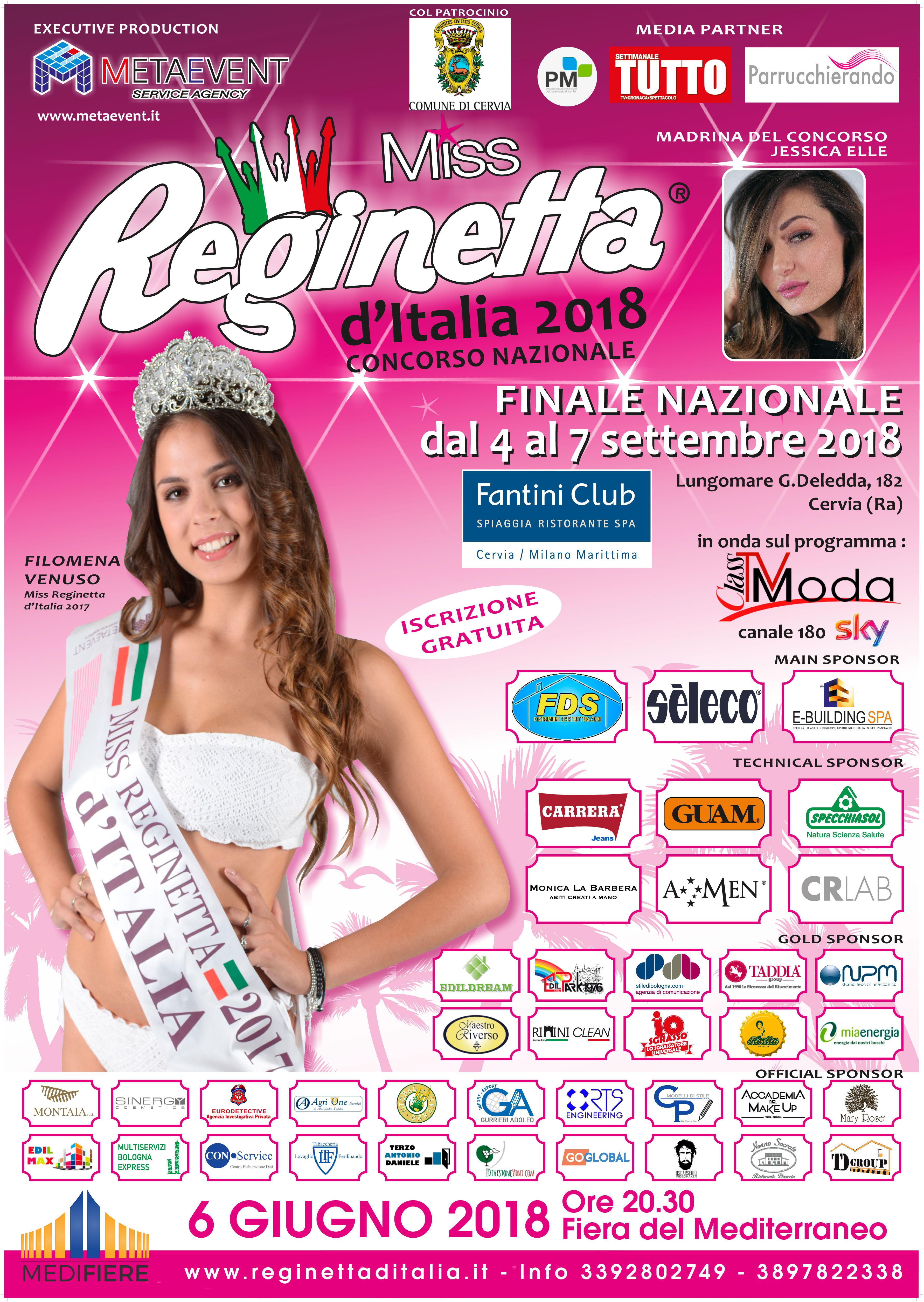 Miss Reginetta alla Fiera del Mediterraneo