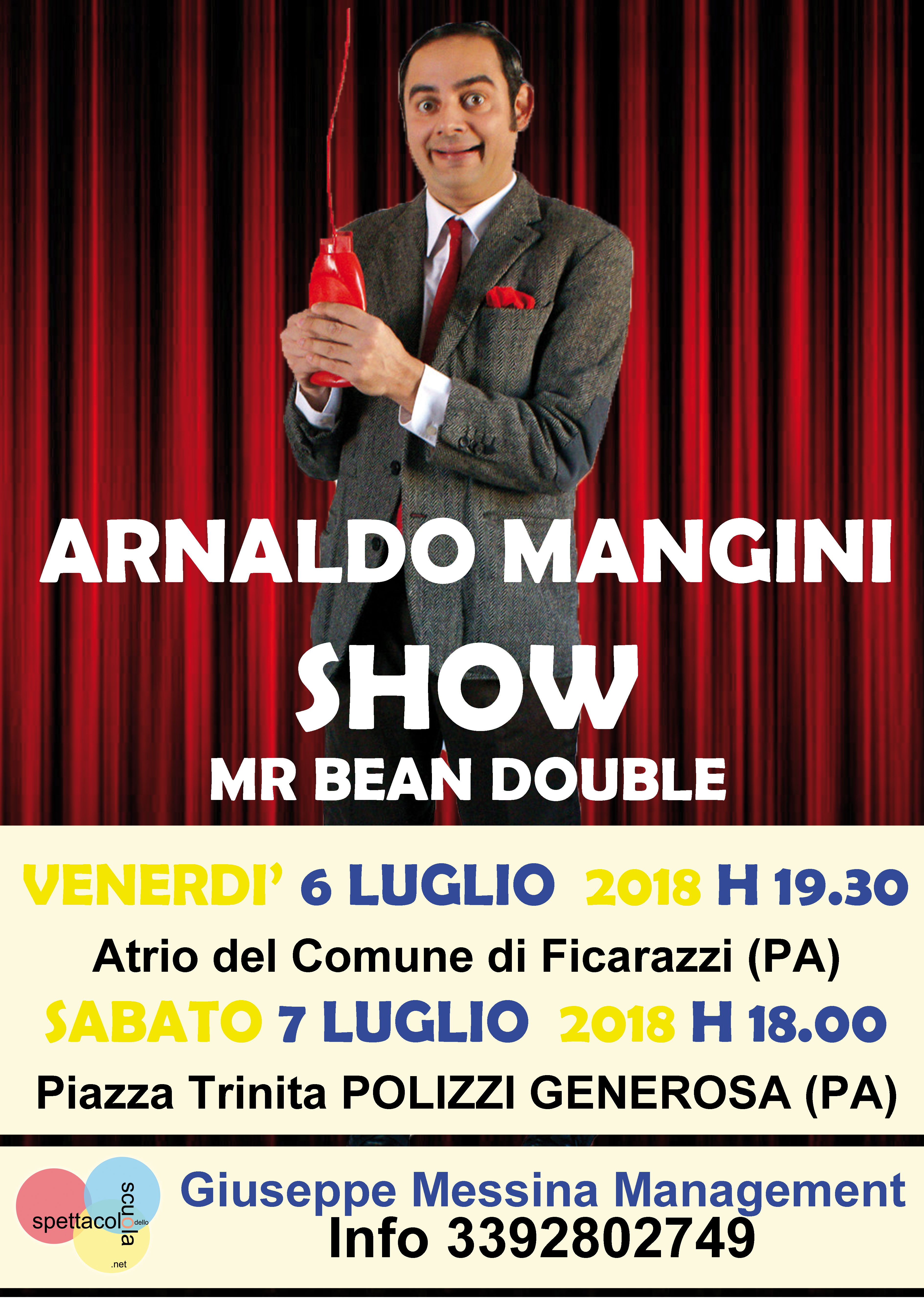 Mister Bean Double Tournee 2018
