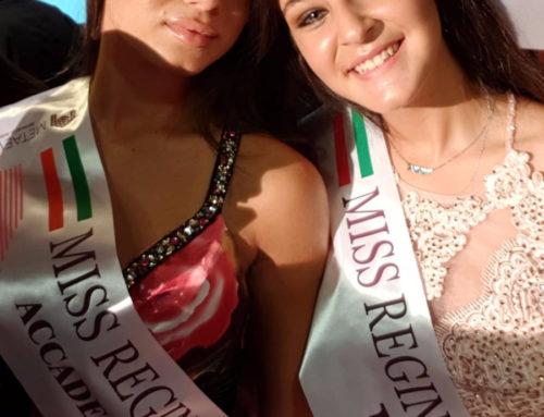 Asia Russo e Arianna Madonia trionfano a Miss Reginetta
